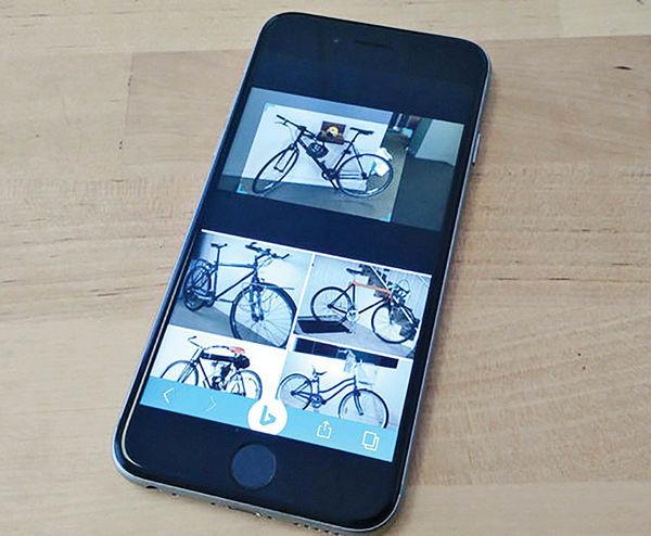 جستوجوی تصویری با استفاده از تلفن همراه