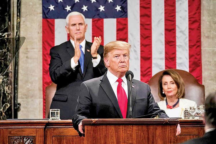 شکاف کنگره و کاخ سفید