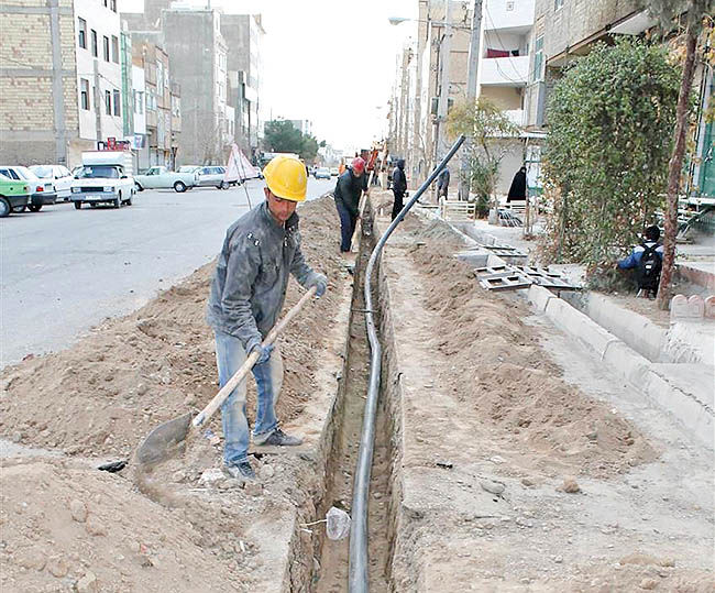 اصلاح شبکه آبرسانی اسلامشهر