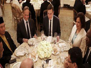 اولین مهمانی افطار ترامپ در کاخ سفید