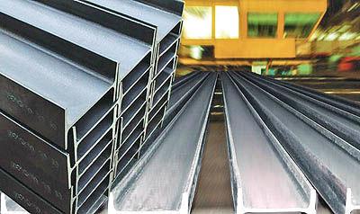 تکانههای فولادی در دو سمت بازار