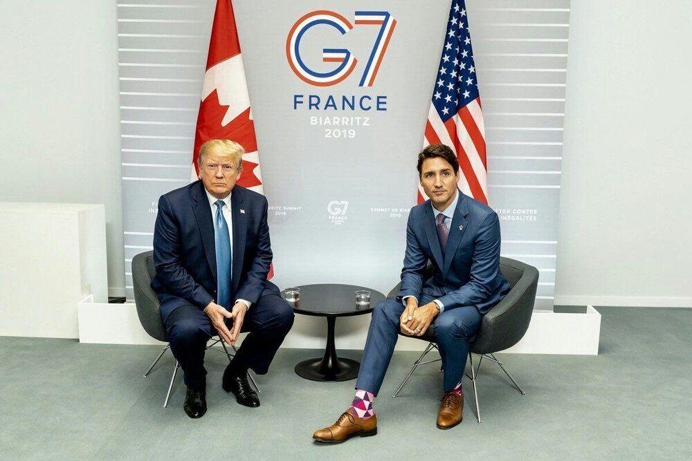 سوژه شدن جورابهای نخستوزیر کانادا