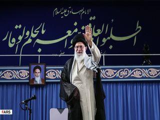 دیدار دانشجویان با رهبر معظم انقلاب اسلامی