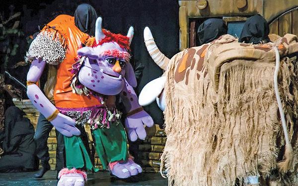 اجرای نمایش عروسکی«غول بابا» در تالار هنر