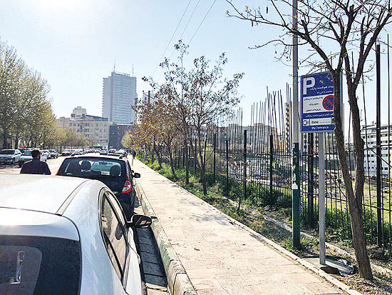 پارکینگ موبایلی در معابر پایتخت