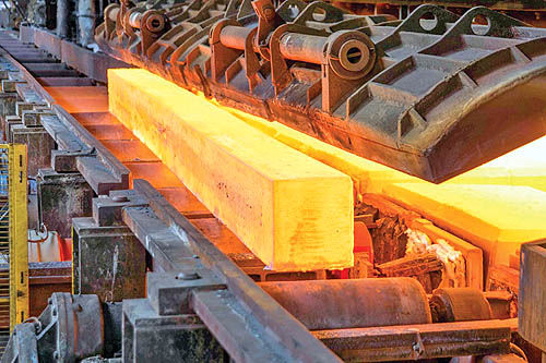 تداوم کاهش قیمت شمش فولاد از سوی خصوصیها