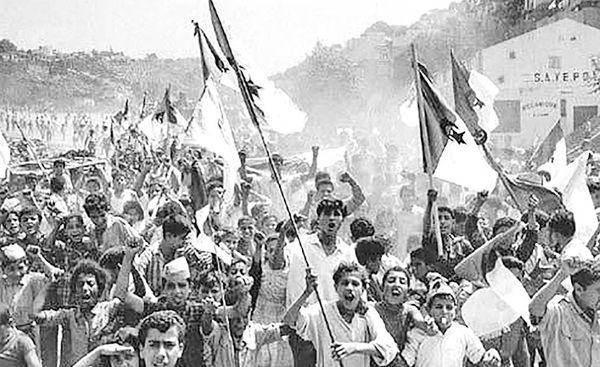 رهایی الجزایر از استعمار فرانسه