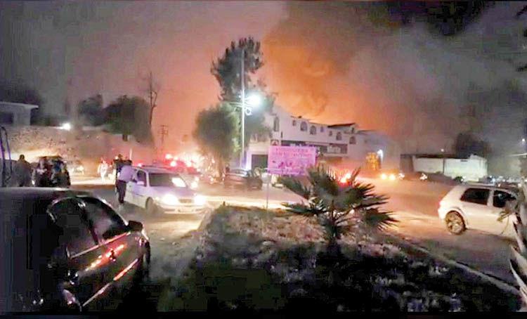 سرقت سوخت جان 21 نفر را در مکزیک گرفت
