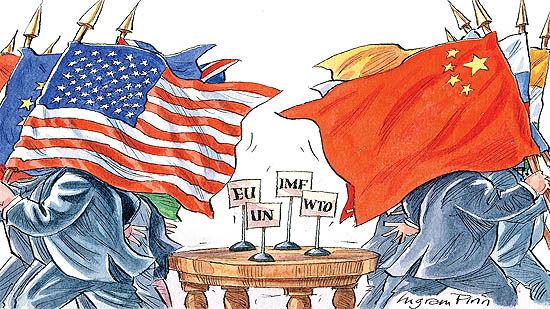 ابزار اقتصادی چین علیه آمریکا