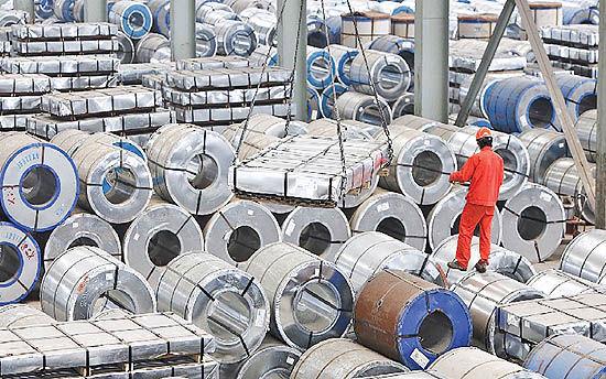 قبولی صادرات فولاد با تک ماده!