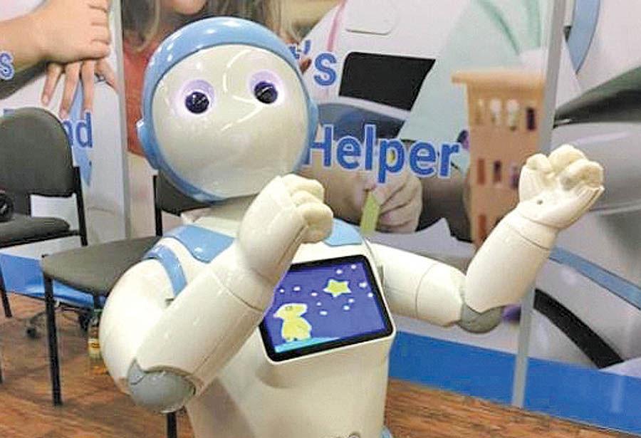 روباتی که آواز میخواند و قصه میگوید