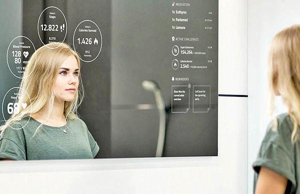 تناسب اندام با آینه هوشمند