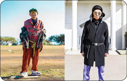پیرمرد ۸۴ سالهای که مدل شد/ عکس