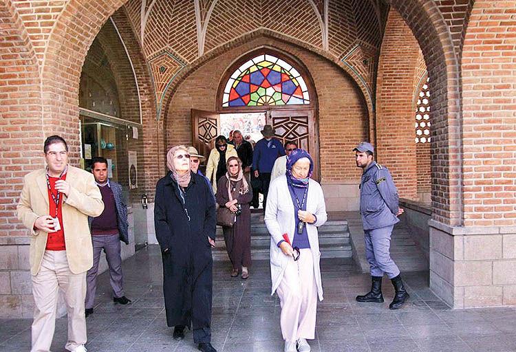 رشد گردشگری خارجی در آذربایجانشرقی