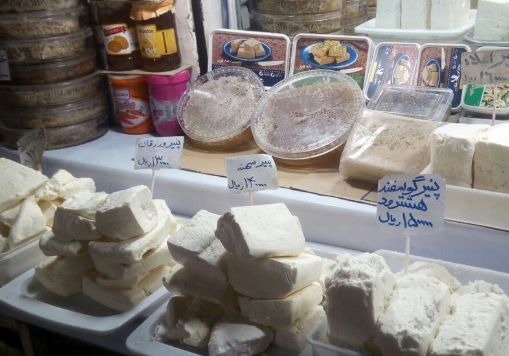 قیمت پنیر امروز ۱۳۹۸/۰۳/۱۹