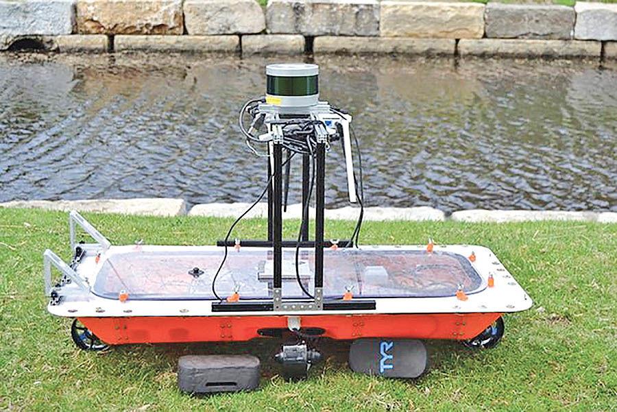 حملونقل شهری با قایقهای هوشمند خودران