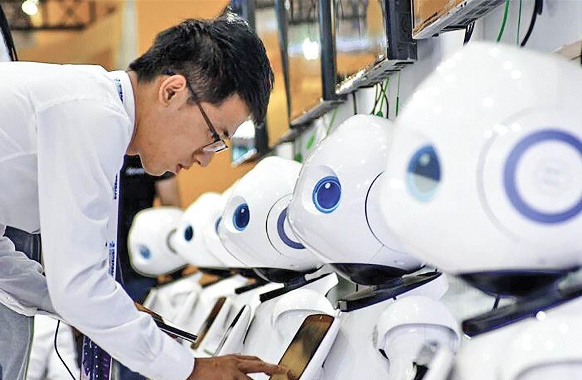 چین بزرگترین بازار جهانی روباتهای صنعتی