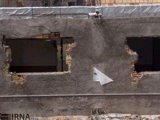شکاف زمین و دیوار خانهها در سمنان