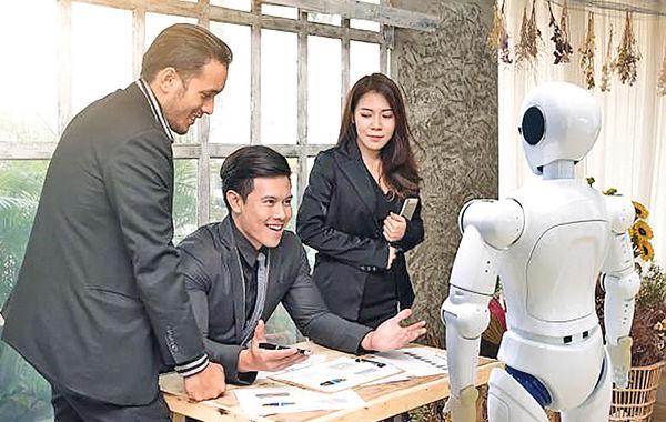 همکاری با روباتها در دانشگاه تدریس میشود