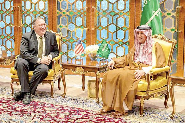 استارت ضدایرانی پمپئو از عربستان