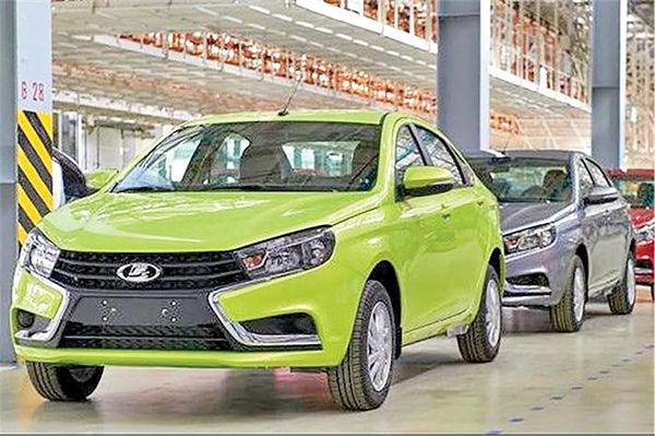 رشد فروش خودرو در روسیه
