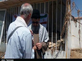 تصاویری از حضور معاون حشدالشعبی عراق در پلدختر