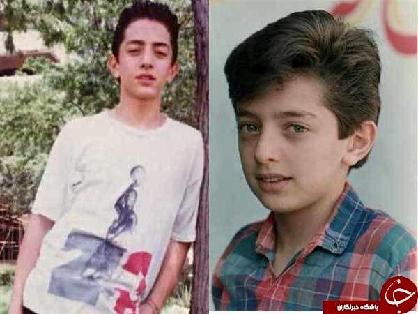 عکسی از دوران کودکی بهرام رادان