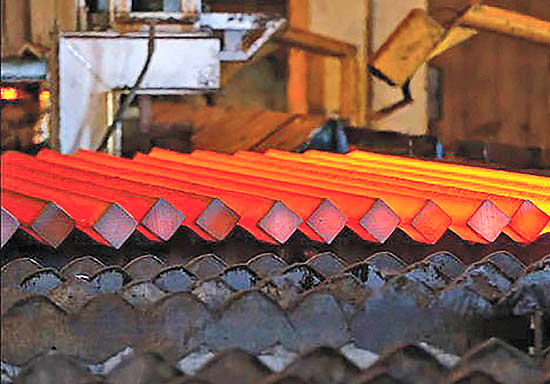 کاهش قیمت شمش فولاد کیمیا