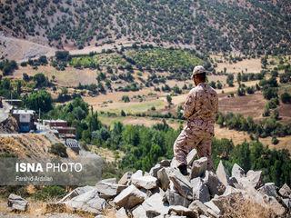 تصاویری از محل حادثه تروریستی مریوان