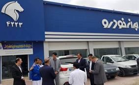 نمایندگیهای چابهار میزبان اولین بازدید مدیران خدمات پس از فروش ایرانخودرو