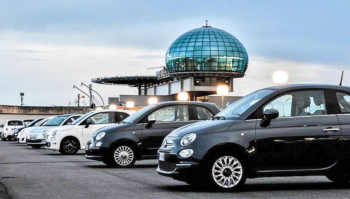 کارخانه جدید فیات در قلب ایتالیا