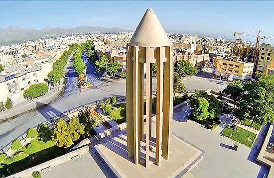 طرح گسترش شهر همدان