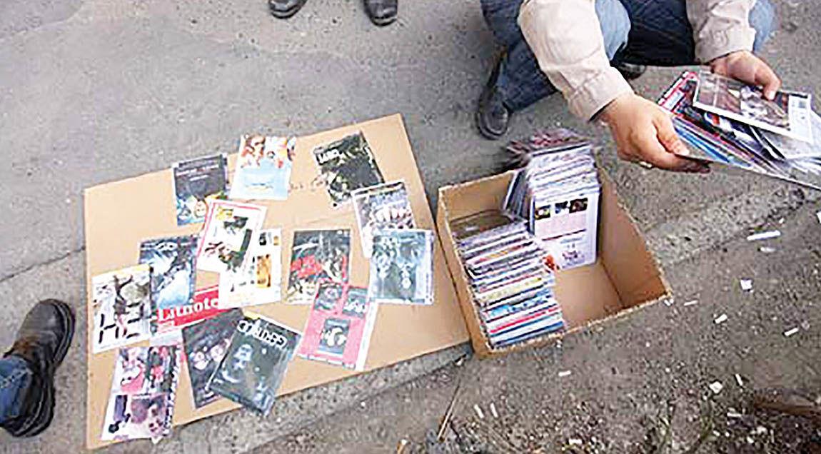 شیوع قاچاق فیلم در ایران