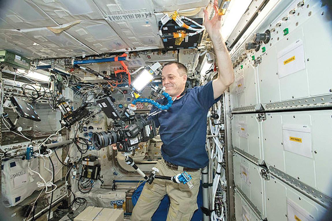انتشار اولین ویدئوی 8K از فضا