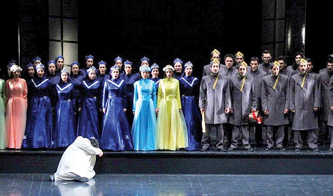 اپرای چکناواریان در تالار وحدت
