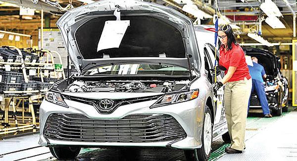 تقویت حضور ژاپنیها در خودروسازی آمریکا