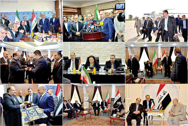 ترسیم همکاری اقتصادی ایران و عراق
