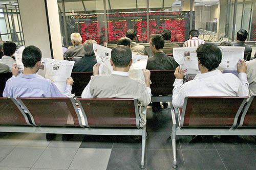 ردپای تردید سیاسی در بورس