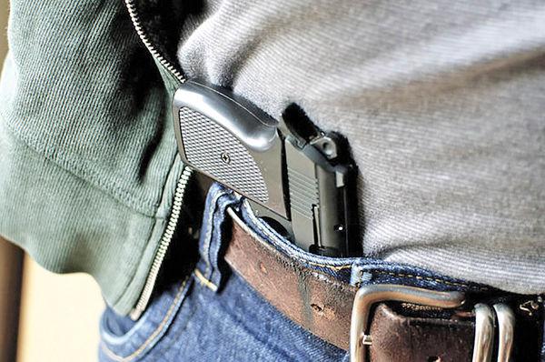 تشخیص اسلحه و اطلاع به پلیس