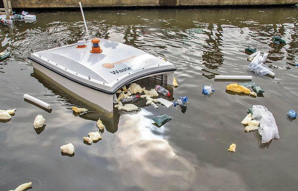 روبات زباله جمعکن