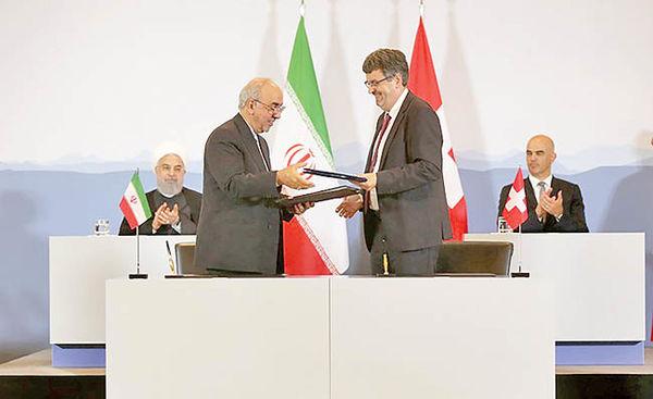 امضای اولین موافقتنامه در پساخروج