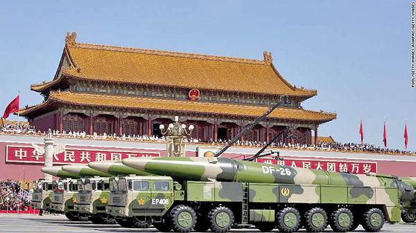 پایگاههای آمریکا در تیررس چینیها