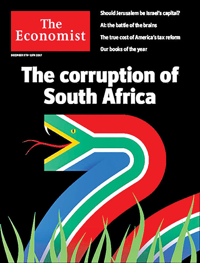 سرنوشت آفریقای جنوبی از نگاه اکونومیست
