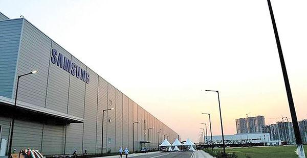 ساخت بزرگترین واحد تولید موبایل سامسونگ در هند
