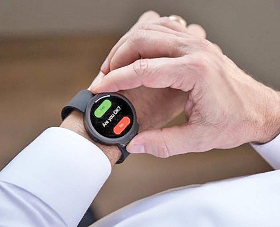 کنترل سلامت قلب با کمک یک ساعت هوشمند