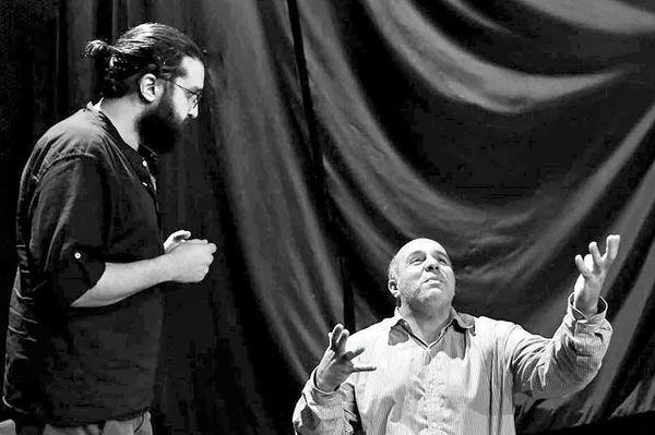 اجرای نمایش «ابلوموف» با بازی پیام دهکردی