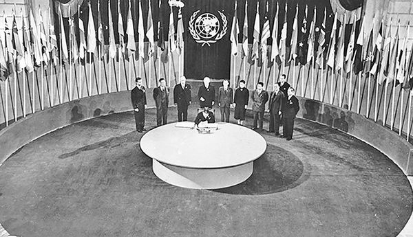 طرح ایجاد سازمان ملل