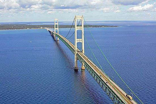 افتتاح پل مکیناک