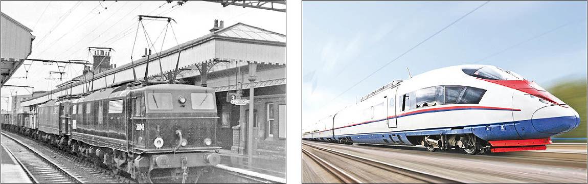 پیشتازی جهانی قطارهای برقی