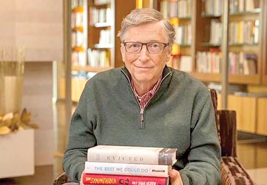 معرفی محبوبترین کتابهای بیل گیتس در سال جدید